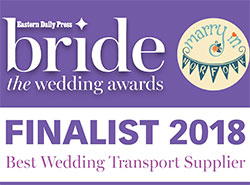 Transport Provider Finalist Wedding Car Awards 2018!