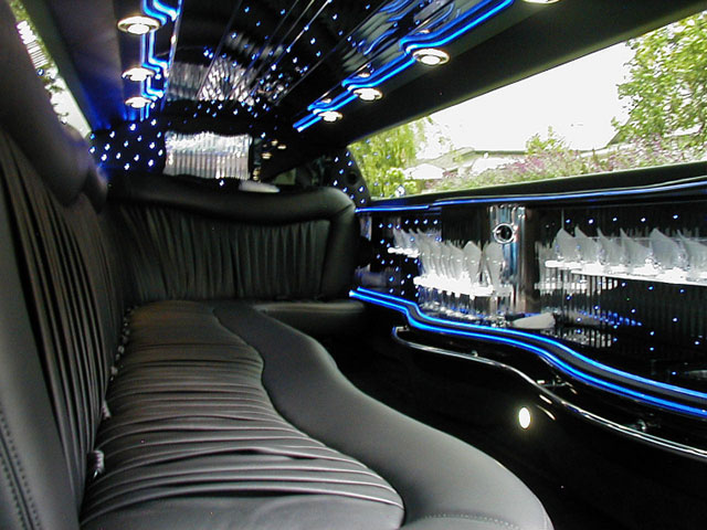 Inside the Chrysler 300 Limousine