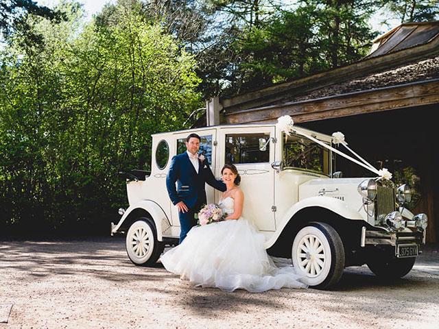 Imperial Landaulette Wedding Car