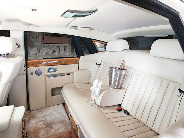 Phantom Rolls Royce - Inside