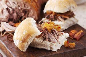 Hog Roast in Rolls