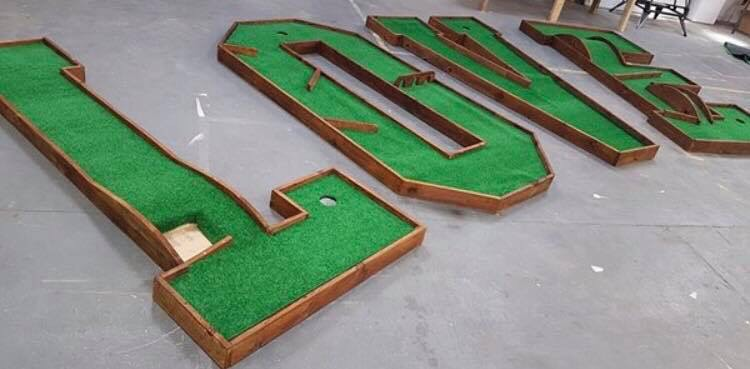 crazy golf love letters