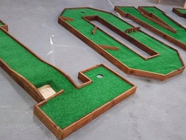 Crazy Golf Love Letters Hire