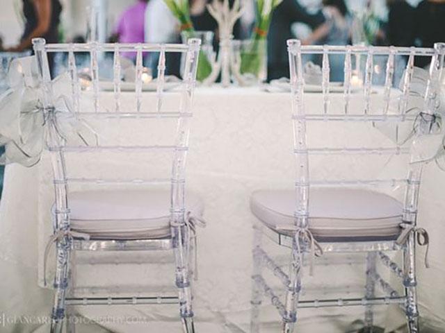 Chiavari Ghost Chairs Hire